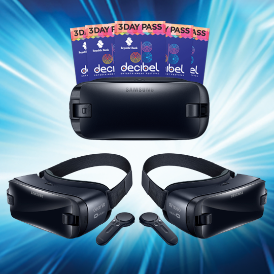 VR GEAR AND DECIBEL GIVEAWAY!