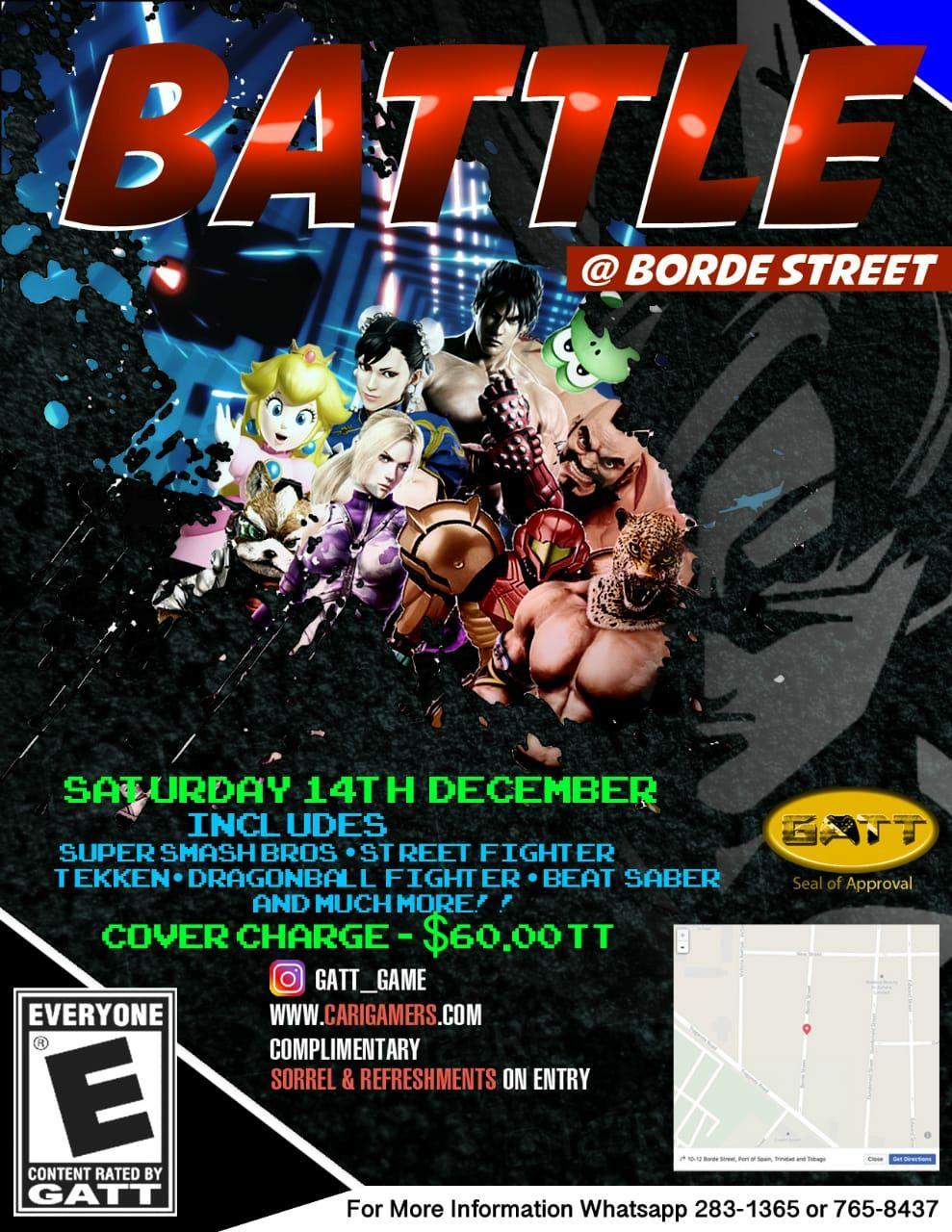 Battle @ Borde Street